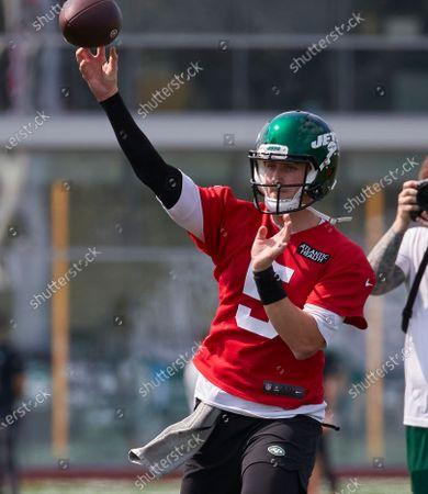 Editorial image of NFL Jets Training Camp, Florham Park, USA - 28 Jul 2021