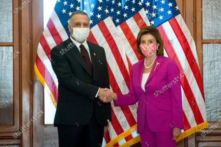 Nancy Pelosi meets with Mustafa Al-Kadhimi, Washington DC