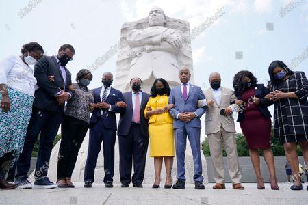 Editorial photo of Texas Democrats MLK, Washington, United States - 28 Jul 2021