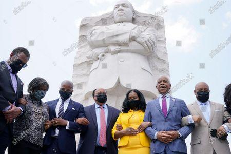 Editorial picture of Texas Democrats MLK, Washington, United States - 28 Jul 2021