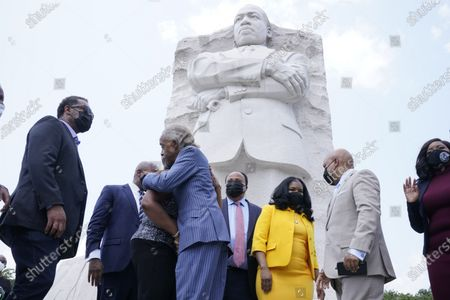 Editorial image of Texas Democrats MLK, Washington, United States - 28 Jul 2021