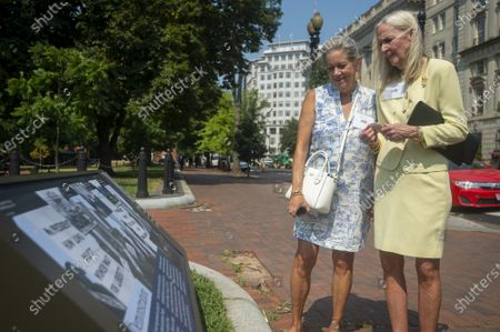 Editorial image of White House Historical Association Unveils Historical Plaques in Lafayette Square, Washington, District of Columbia, United States - 28 Jul 2021
