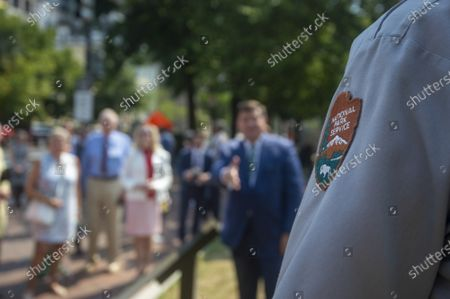 Editorial picture of White House Historical Association Unveils Historical Plaques in Lafayette Square, Washington, District of Columbia, United States - 28 Jul 2021