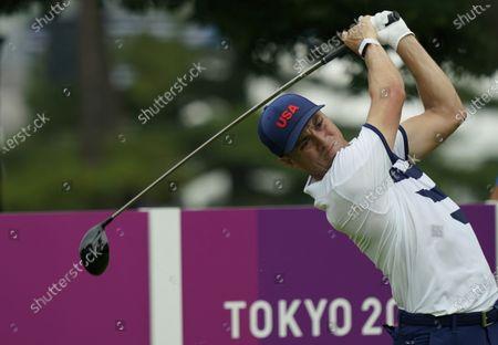 Editorial photo of Tokyo Olympics Golf, Kawagoe, Japan - 28 Jul 2021