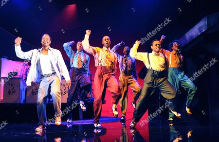 'Five Guys Named Mo' - Clarke Peters, Ashley Campbell, Christopher Colquhoun, Carlton Connell, Paul Hazel and Horace Oliver