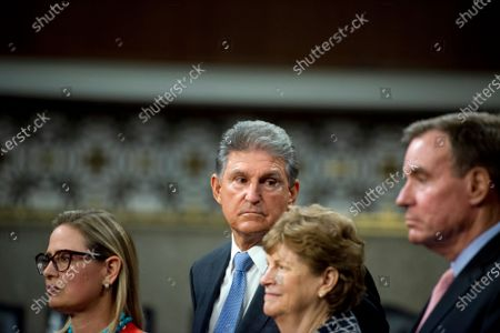 Editorial picture of Reaction to the Vote to begin Debate on the Bipartisan Infrastructure Bill in the US Senate, Washington, District of Columbia, USA - 28 Jul 2021
