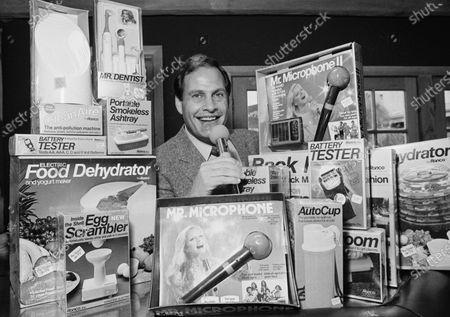 Editorial image of Obit Ron Popeil, Los Angeles, United States - 08 Dec 1982