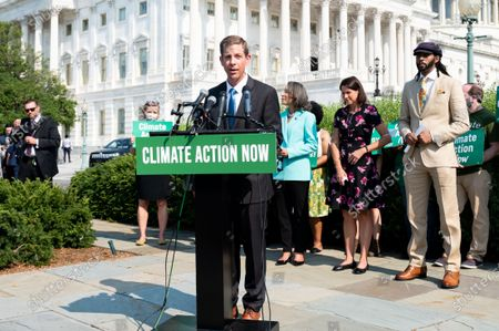 Editorial photo of Members of the Congress called for climate action in Washington, US - 28 Jul 2021