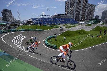 Editorial picture of Olympics BMX Cycling, Tokyo, Japan - 29 Jul 2021