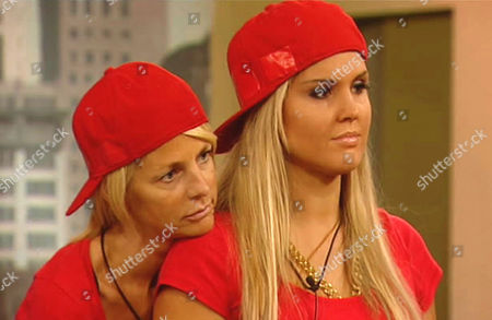 Ulrika Jonsson and Michelle Bass