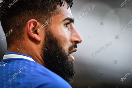 Stock Picture of Nabil Fekir of Real Betis during the Pre-season Friendly match between Derby County and Real Betis Balompi at the Pride Park, Derby on Wednesday 28th July 2021.