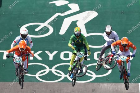 Editorial image of Olympic Games 2020 Cycling BMX Racing, Tokyo, Japan - 29 Jul 2021