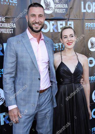 Pablo Schreiber and Jena Malone