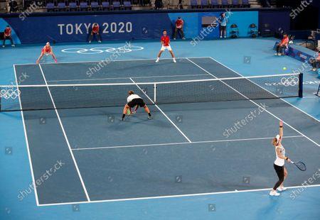 Editorial photo of Olympic Games 2020 Tennis, Tokyo, Japan - 29 Jul 2021
