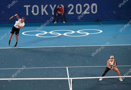 Editorial picture of Olympic Games 2020 Tennis, Tokyo, Japan - 29 Jul 2021