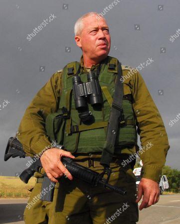 Southern Command Chief Yoav Galant