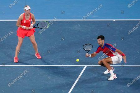 Editorial photo of Olympics Tennis, Tokyo, Japan - 29 Jul 2021