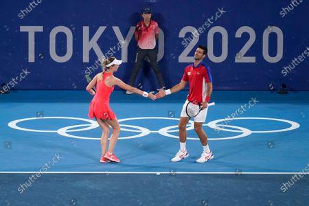 Editorial image of Olympics Tennis, Tokyo, Japan - 29 Jul 2021