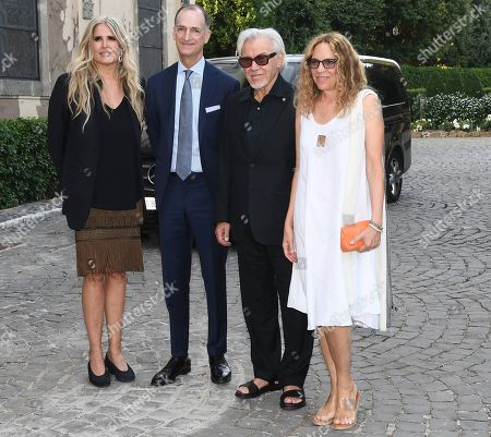 Tiziana Rocca, Harvey Keitel and Daphna Kastner