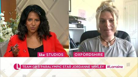 Editorial image of 'Lorraine' TV Show, London, UK - 29 Jul 2021