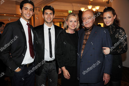 Editorial photo of Harrods Party to Celebrate Mohamed Al Fayed's 25 years as Chairman, London, Britain - 8 Sep 2010