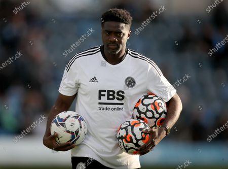 Stock Photo of Kolo Toure the Leicester City coach
