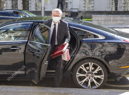 Michael Gove, Chancellor of the Duchy of Lancaster and Minister for the Cabinet Office, arrives at the Cabinet office.