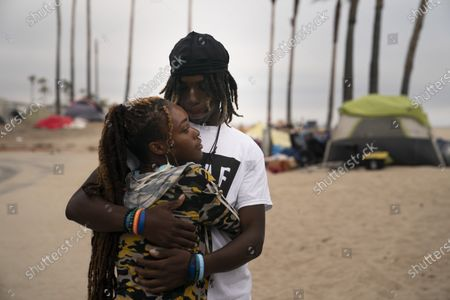 Editorial picture of California Homeless Venice Beach, Los Angeles, United States - 29 Jun 2021
