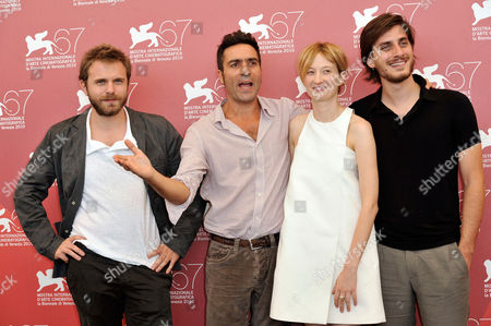 Writer Paolo Giordano, Director Saverio Costanzo, Alba Rohrwacher, Luca Marinelli