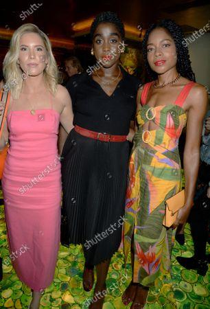 Thea Carroll, Naomie Harris and Lashana Lynch