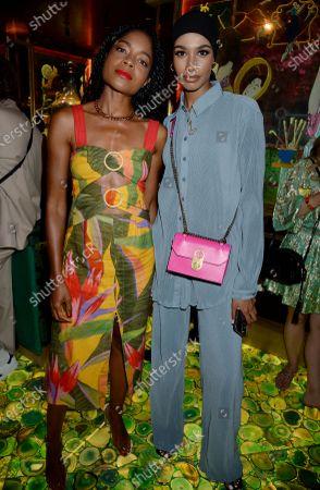 Naomie Harris and Ikram Abdi Omar
