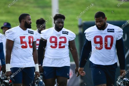 Editorial picture of Texans Football, Houston, United States - 29 Jul 2021