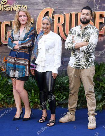 Katie Traxton, Mariah Idrissi and Mistah Islah