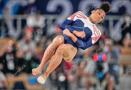 Editorial photo of Gymnastics - Artistic - Olympics: Day 6, Tokyo, Japan - 29 Jul 2021