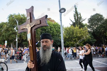 Editorial picture of Demonstration Against The Mandatory Vaccination In Thessaloniki, Greece - 28 Jul 2021