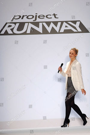 Editorial picture of Project Runway Show Spring 2011, Mercedes-Benz Fashion Week, New York, America - 09 Sep 2010