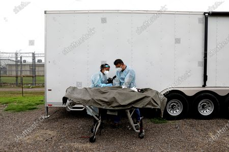 Editorial photo of Increased numbers of adult migrants crossing the border illegally, avoiding Border Patrol agents and dying in the brush, Falfurrias, Texas, United States - 04 Jun 2021