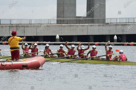 Editorial picture of Olympics Rowing, Tokyo, Japan - 30 Jul 2021