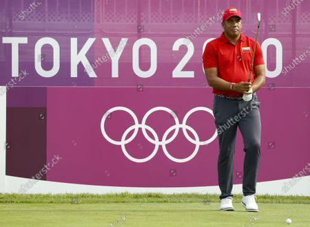 Editorial photo of Olympic Games 2020 Golf, Kawagoe, Japan - 30 Jul 2021