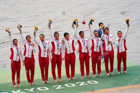 Editorial photo of Olympics Rowing, Tokyo, Japan - 30 Jul 2021