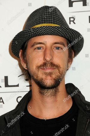 Stock Photo of Chris Hesse of Hoobastank