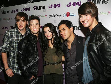 Big Time Rush - Tiffany Giardina Kendall Schmidt, Logan Henderson, Carlos Pena Jr, Jr., James Maslow