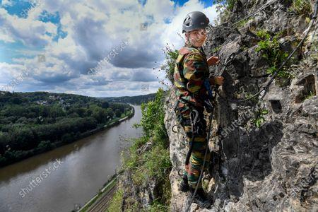 Editorial photo of Princess Elisabeth at Commando Training, Marche-les-Dames, Belgium - 27 Jul 2021
