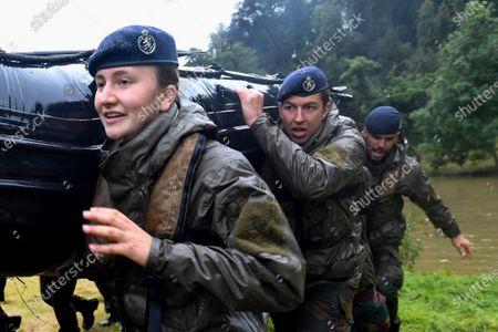 Editorial picture of Princess Elisabeth at Commando Training, Marche-les-Dames, Belgium - 27 Jul 2021