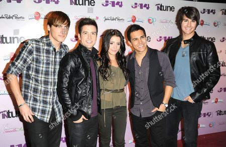 Kendall Schmidt and James Maslow and Tiffany Giardina and Carlos Pena Jr and Logan Henderson