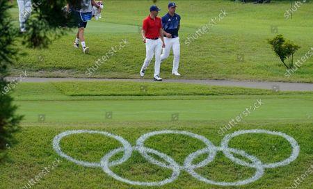 Editorial image of Tokyo Olympics Golf, Kawagoe, Japan - 30 Jul 2021