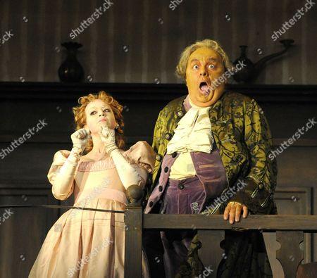 'Don Pasquale' - Iride Martinez (Norina) and Paolo Gavanelli (Don Pasquale)