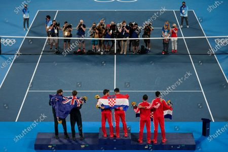 Editorial picture of Olympics Tennis, Tokyo, Japan - 30 Jul 2021