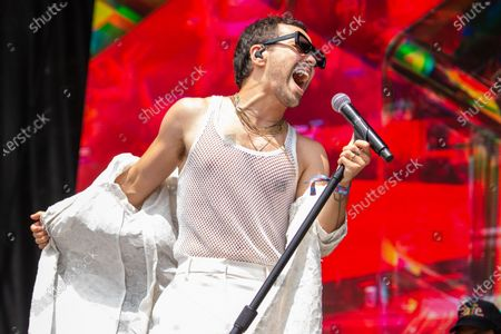 Editorial image of Lollapalooza Music Festival, Day 1, Chicago, USA - 29 Jul 2021