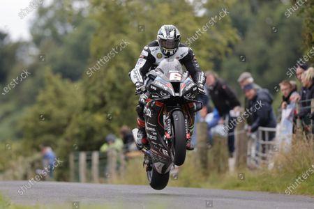 Editorial photo of Armoy Road Races, Motorbike Racing, Armoy, UK - 31 Jul 2021
